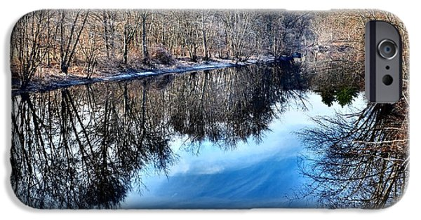 Concord Ma. iPhone Cases - Whispered Reflections iPhone Case by Andrew Weiner