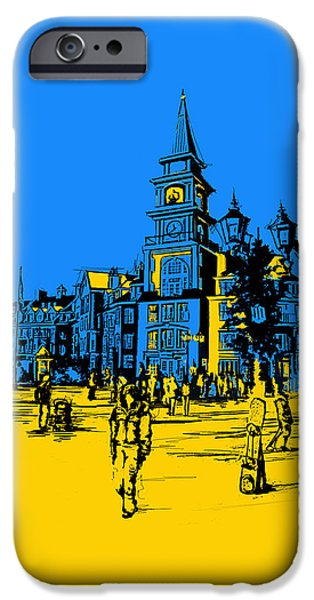 Corporate Art iPhone Cases - Whistler Art 002 iPhone Case by Catf