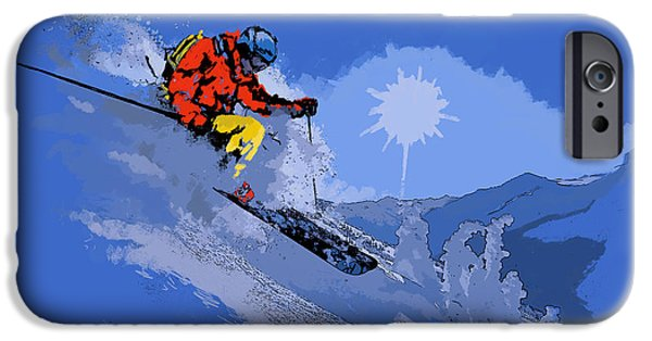Corporate Art iPhone Cases - Whistler Art 006 iPhone Case by Catf