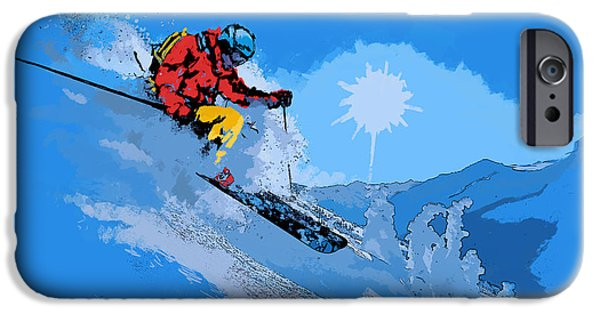 Iphone Art iPhone Cases - Whistler Art 008 iPhone Case by Catf