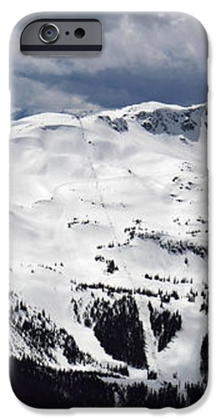 Whistler Mountain view from Blackcomb iPhone Case by Pierre Leclerc Photography