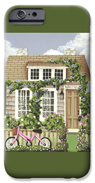 Whitby Cottage iPhone Case by Catherine Holman