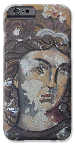 Angel Reliefs iPhone Cases - White Angel iPhone Case by Antoni Golabovski
