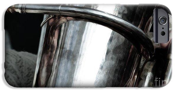 White Beard iPhone Cases - White Beard  iPhone Case by Steven  Digman