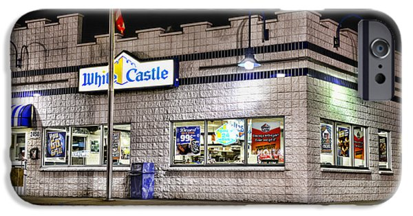 Slider Photographs iPhone Cases - White Castle 2 iPhone Case by Paul Ward