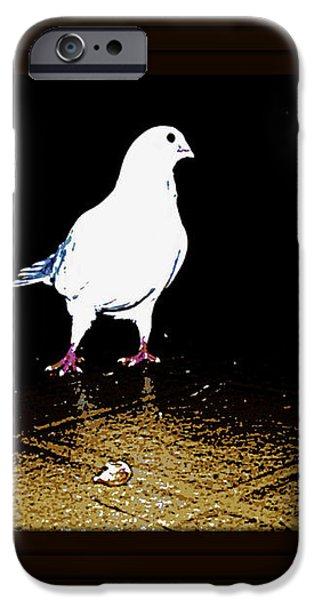 White Dove iPhone Case by YoMamaBird Rhonda