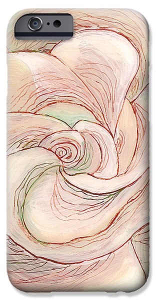 White Gardenia 1 iPhone Case by Anna Skaradzinska