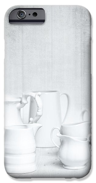 White Jugs iPhone Case by Amanda And Christopher Elwell