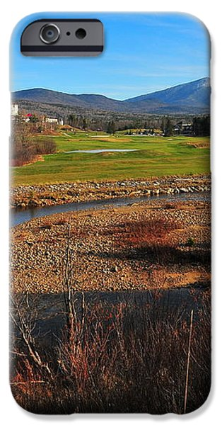 White Mountains Scenic Vista iPhone Case by Catherine Reusch  Daley