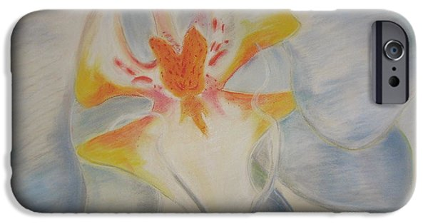 Buy Pastels iPhone Cases - White orchid iPhone Case by Igor Kotnik