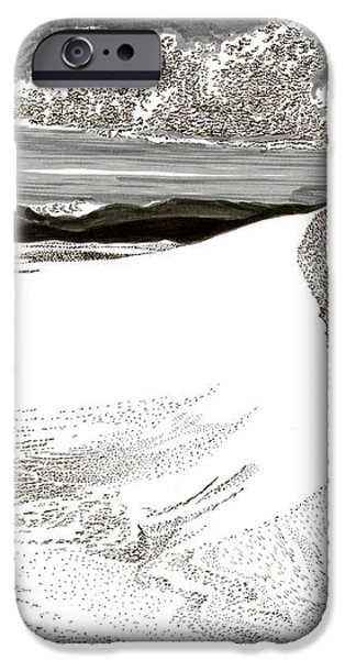 White Sands New Mexico iPhone Case by Jack Pumphrey