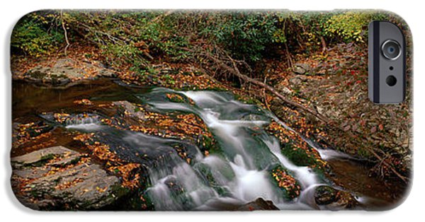 Tn iPhone Cases - White Water The Great Smoky Mountains iPhone Case by Panoramic Images