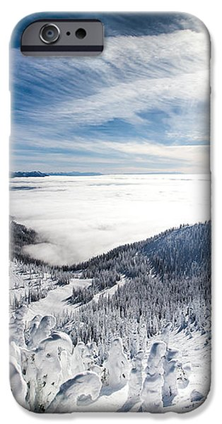 Whitefish Inversion iPhone Case by Aaron Aldrich