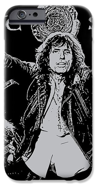 Whitesnake No.01 iPhone Case by Caio Caldas