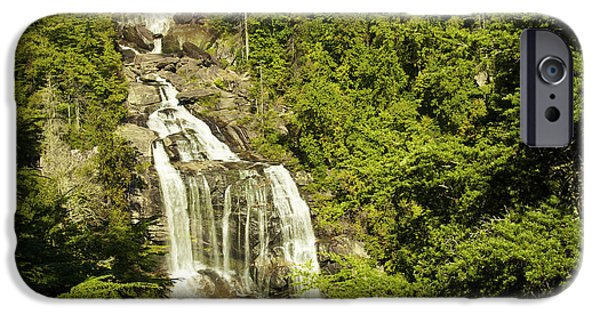 Power iPhone Cases - Whitewater Falls iPhone Case by Phill  Doherty