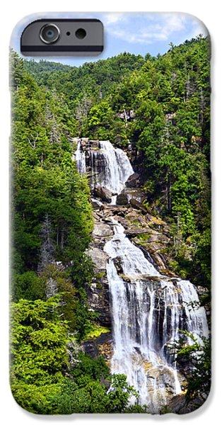 Whitewater Falls iPhone Case by Susan Leggett