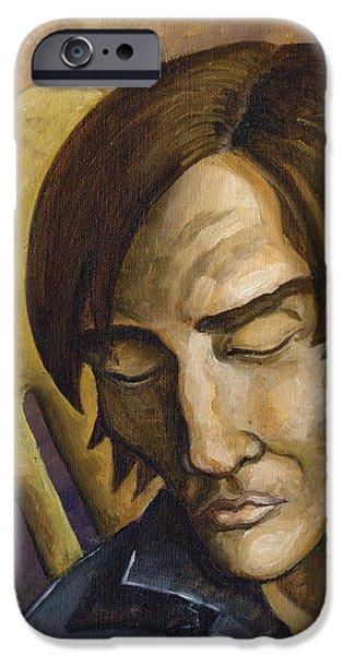 Who Does Not Meditate Disintegrates iPhone Case by John Ashton Golden