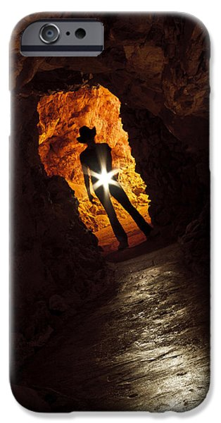 Who Goes There? iPhone Case by KENAN SIPILOVIC