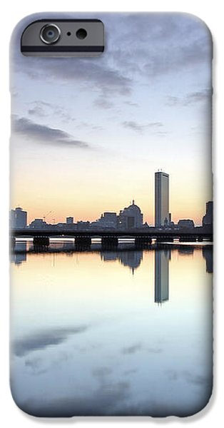 Why So Quiet Boston iPhone Case by Juergen Roth