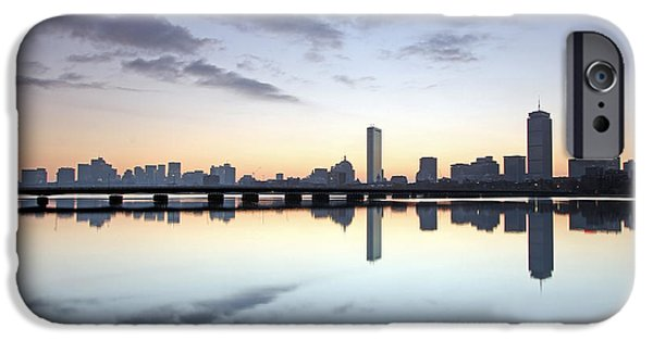 Boston Charles River iPhone Cases - Why So Quiet Boston iPhone Case by Juergen Roth