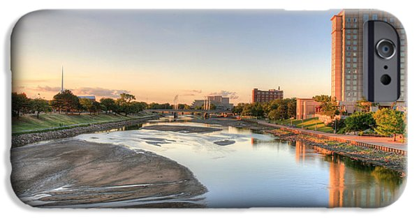Arkansas iPhone Cases - Wichita iPhone Case by JC Findley