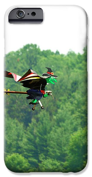 Wicked and Flying iPhone Case by Thomas Young