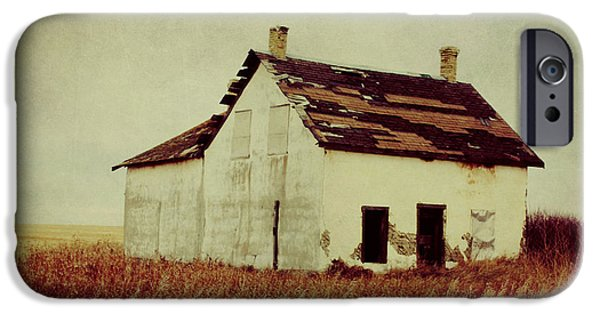 Old Barns iPhone Cases - Wicked Wind iPhone Case by Jerry Cordeiro