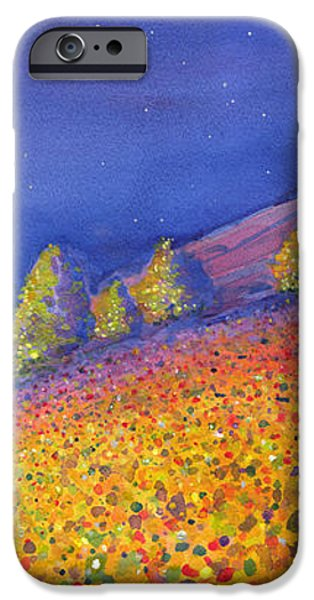 Widespread Panic Redrocks with Michael Houser iPhone Case by David Sockrider