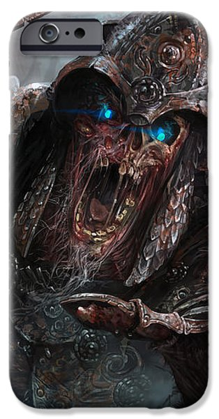 Wight of Precinct Six iPhone Case by Ryan Barger