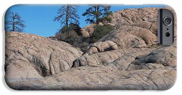 Prescott Arizona iPhone Cases - Willow Lake Number One Color iPhone Case by Heather Kirk