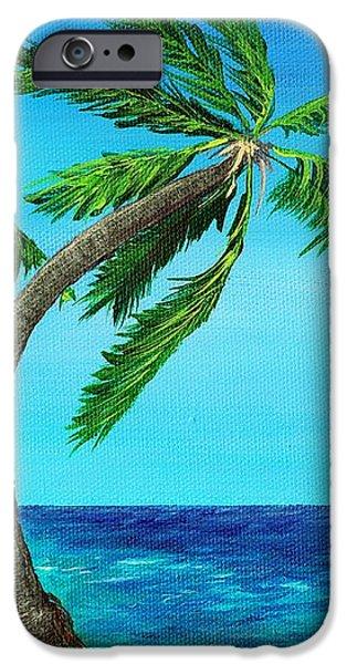 Leaf iPhone Cases - Wild Beach iPhone Case by Anastasiya Malakhova