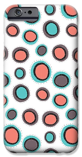 Floral Digital Art Digital Art Photographs iPhone Cases - Wild Bounce iPhone Case by Susan Claire