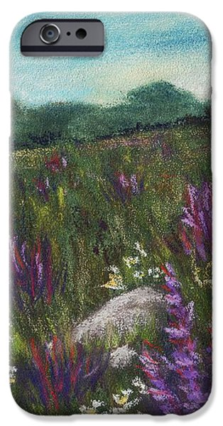 Wild Flower Field iPhone Case by Anastasiya Malakhova