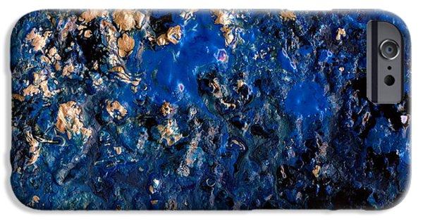 Power iPhone Cases - Wild ocean iPhone Case by Sylvia Sotuyo