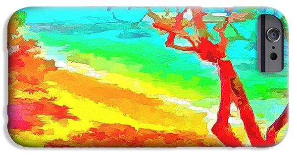 Painter Photo Photographs iPhone Cases - Wild Paradise iPhone Case by Mario Carini