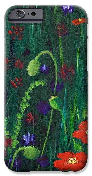 Wild Poppies iPhone Case by Anastasiya Malakhova