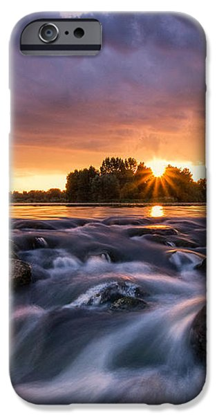 Wild river II iPhone Case by Davorin Mance