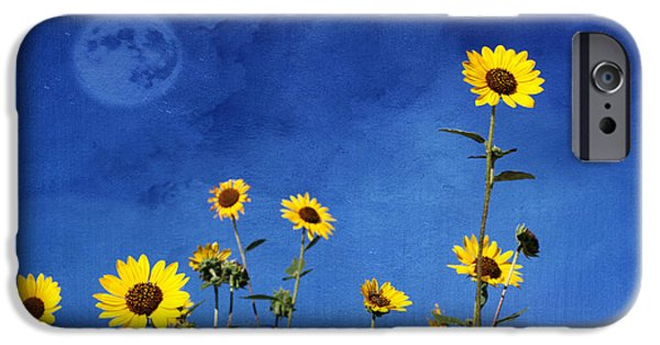 Annual iPhone Cases - Wild Sunflowers iPhone Case by Juli Scalzi