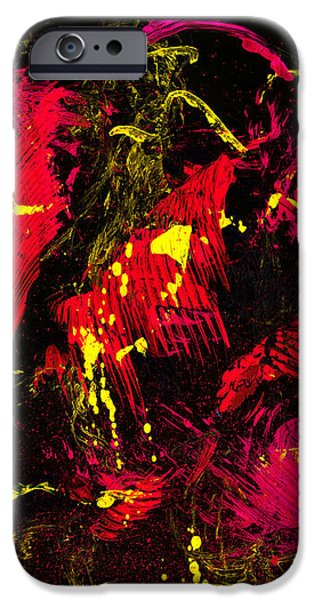 wild times - black iPhone Case by Manuel Sueess