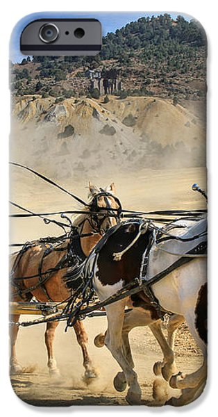 Wild West Ride iPhone Case by Donna Kennedy