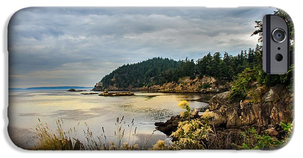 Seacapes iPhone Cases - Wildcat Cove iPhone Case by Robert Bales