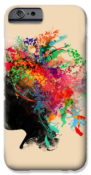 Budi Satria Kwan iPhone Cases - Wildchild iPhone Case by Budi Kwan