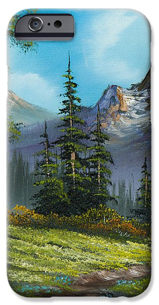 Wilderness Trail iPhone Case by C Steele