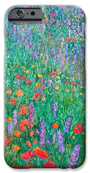 Wildflower Current iPhone Case by Kendall Kessler