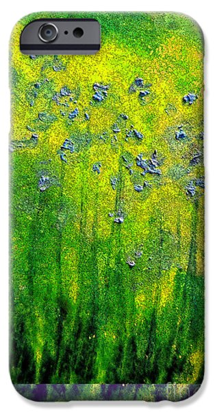 For Children Pastels iPhone Cases - Wildflower Impression by jrr iPhone Case by First Star Art