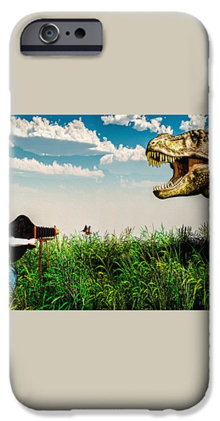 Wildlife Photographer  iPhone Case by Bob Orsillo