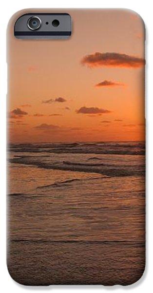 Wildwood Beach Sunrise II iPhone Case by David Dehner