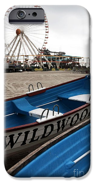 John Rizzuto iPhone Cases - Wildwood iPhone Case by John Rizzuto
