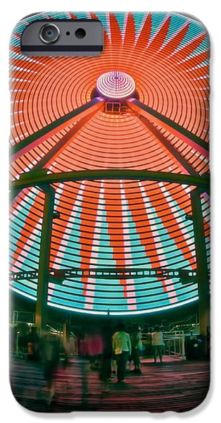 Wildwood's Giant Wheel iPhone Case by Mark Miller