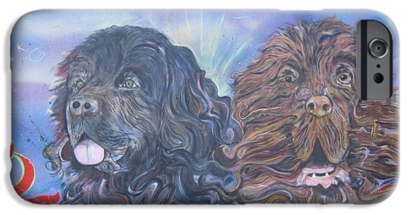 Dog Sculptures iPhone Cases - Will Do Commissions iPhone Case by Erik Franco